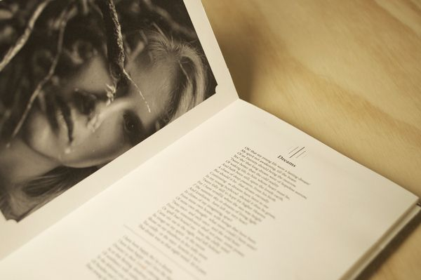 Poetry Book. Love working on this!  Neenah Paper Promotion for Sundance Paper Line by Jon King, via Behance