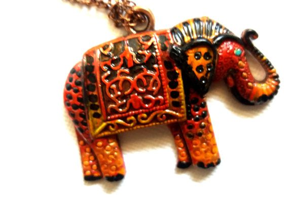 2016 april ELEPHANT by Marianne on Etsy