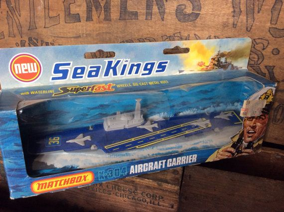 Vintage Antique Estate Matchbox Sea Kings DieCast by MADVintology, $35.00