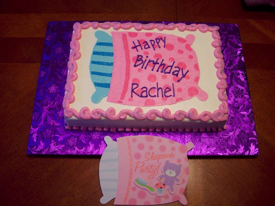 Slumber Party On Cake Central Party Ideas Birthday Etc