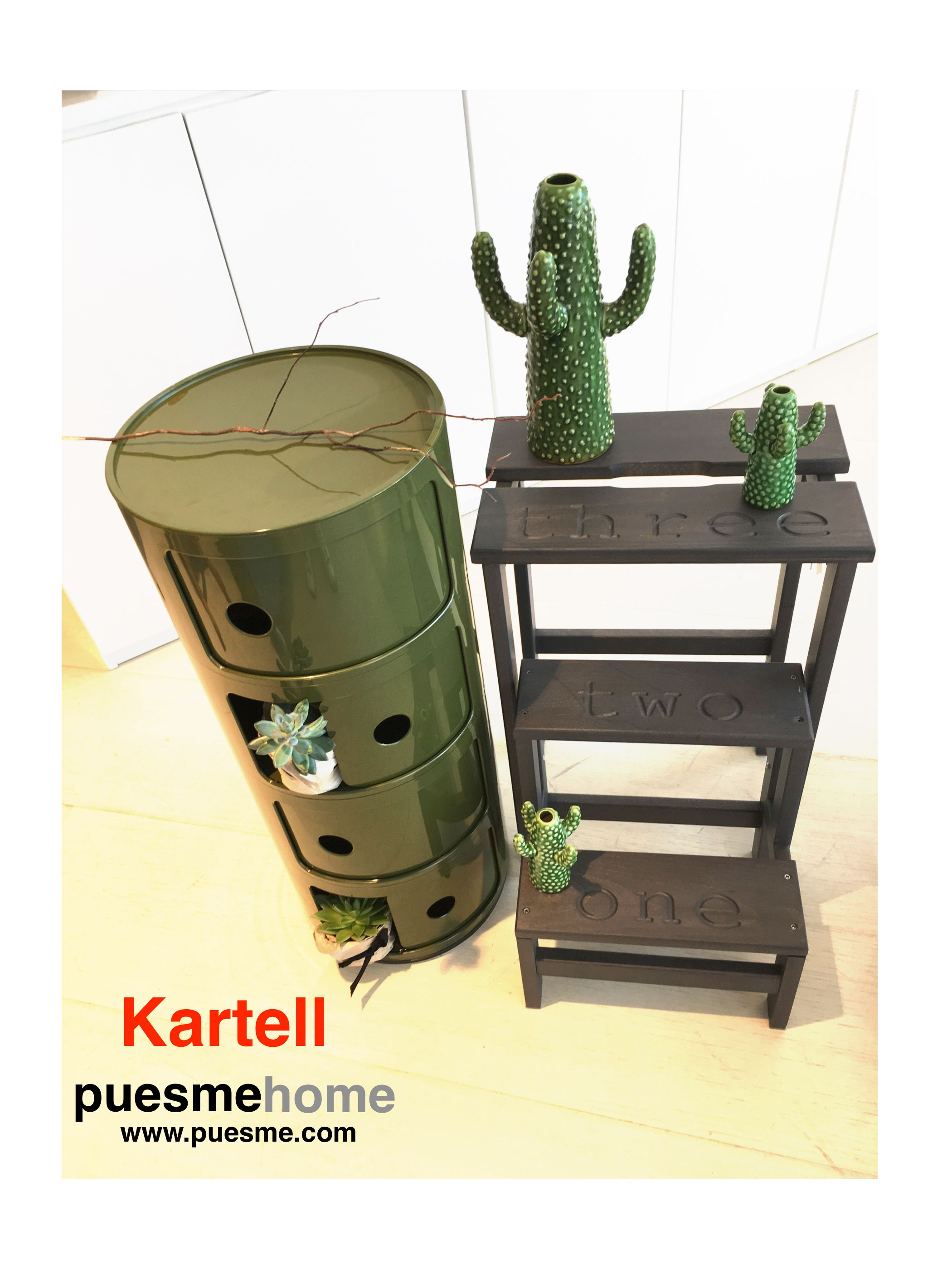 componibile Kartell, puesmehome, verde, new color, design #musthave