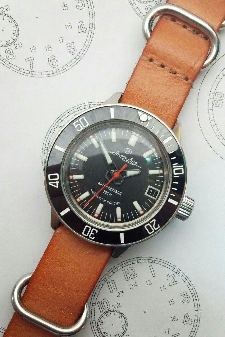 Vostok Amphibia Heavy Mod In 420 Case Vostok Watches