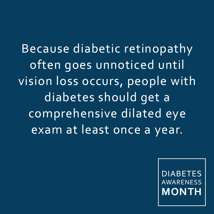 Because diabetic retinopathy often goes unnoticed until vision loss occurs, people with diabetes should get a comprehensive dilated eye exam at least once a year. Call us today at 717-387-5657 to set up an appointment.  READ MORE HERE https://www.linkedin.com/pulse/diabetes-eye-alison-ridenour