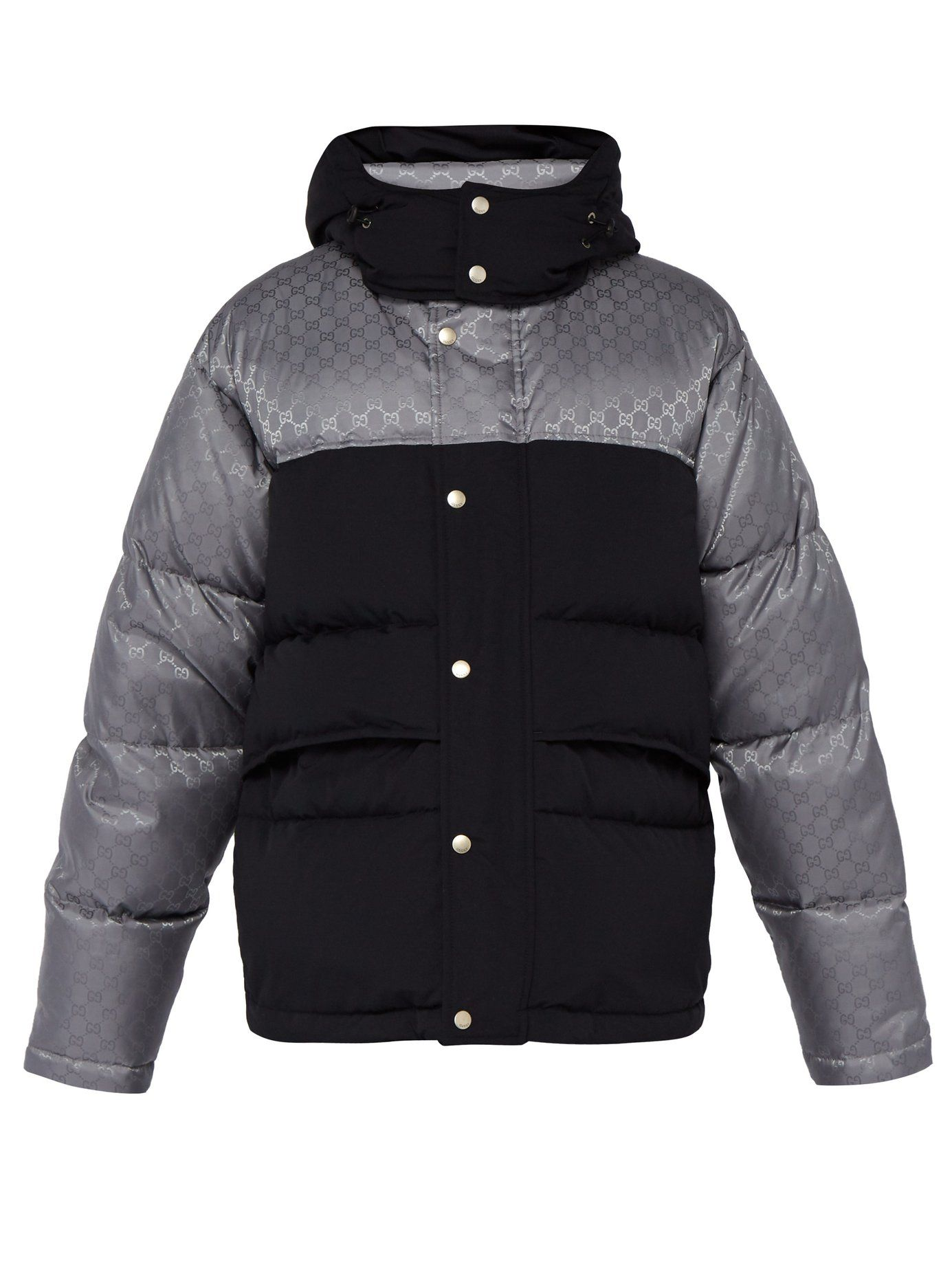 99011b1c2 Logo-jacquard down-filled jacket | Gucci | MATCHESFASHION.COM UK ...