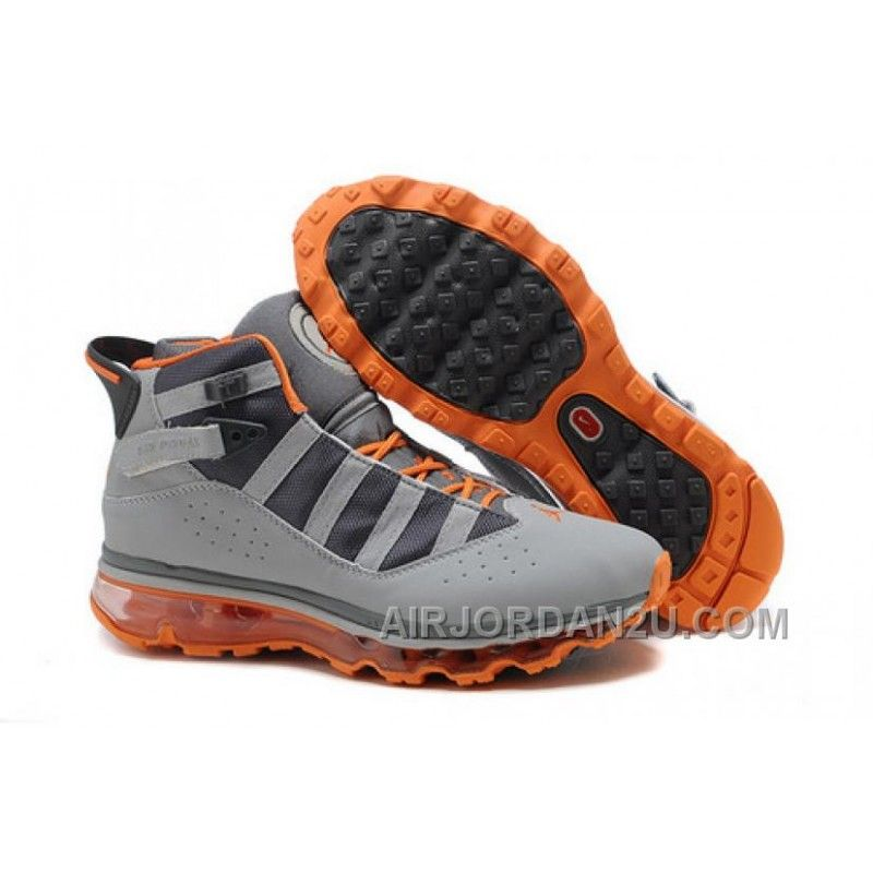Hot Women's Nike Air Max Jordan Six Rings Shoes Grey/Orange, Price: $85.00