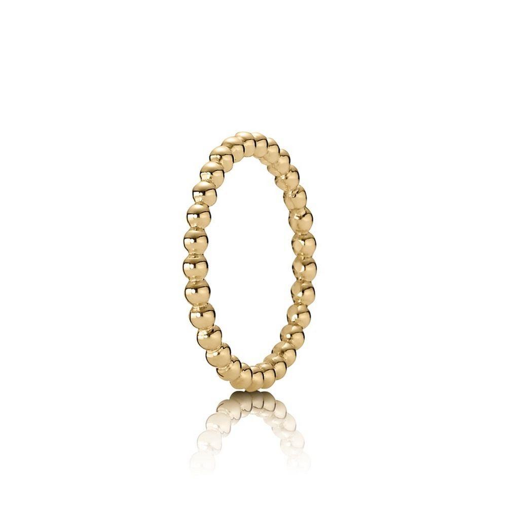 14a30440d Pandora Eternal Cloud 14K Gold Ring H0850 - Gold Rings | pandora ...