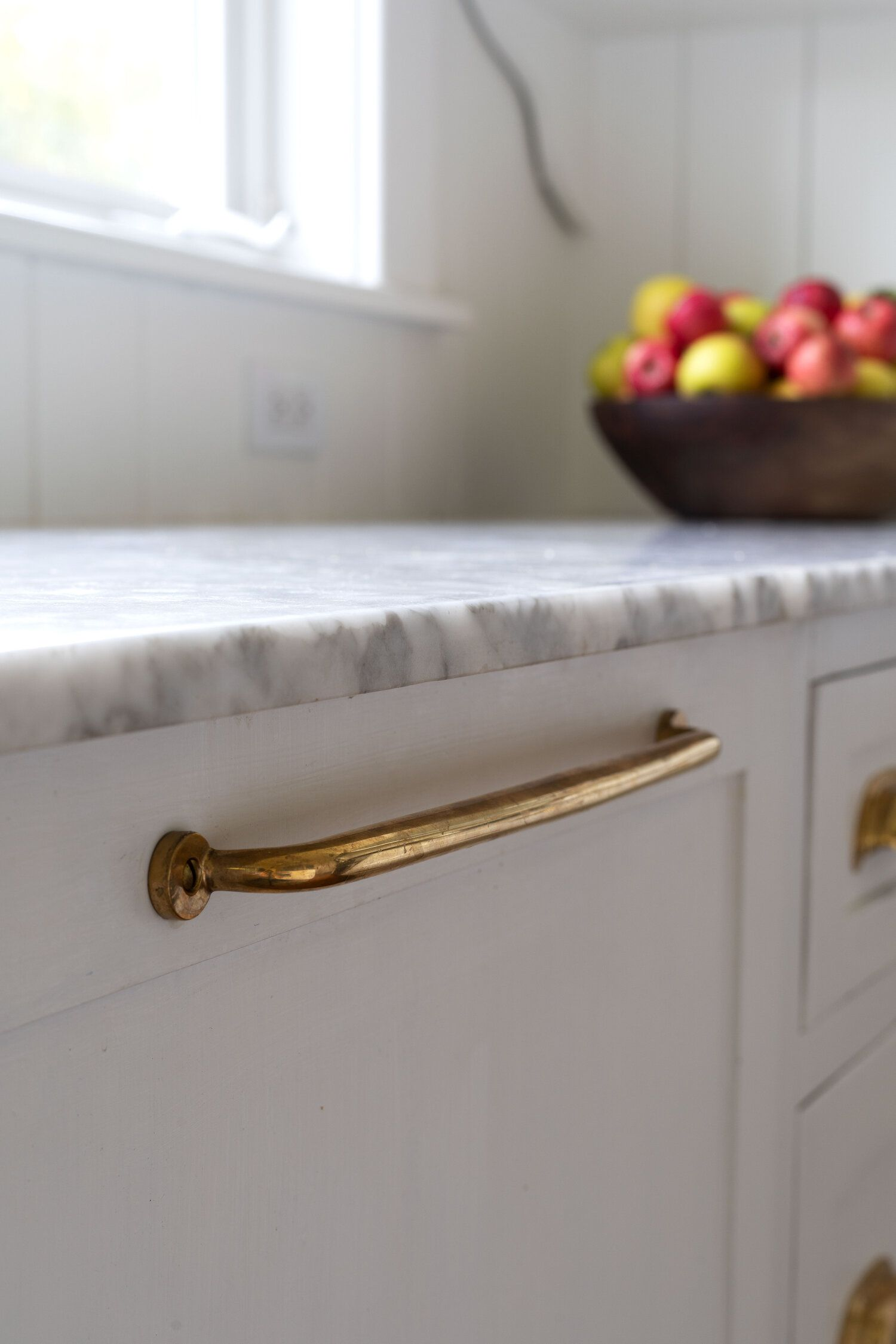 One Year of Age on Our Unlacquered Brass Hardware