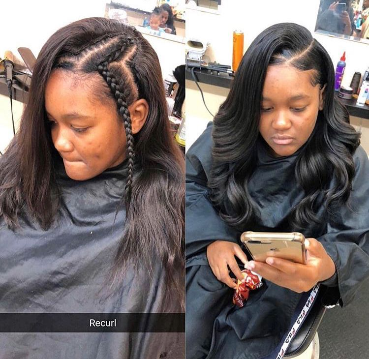 Pin By Jennifer Mingo On Beautiful Hair Weave Hairstyles Natural Hair Styles