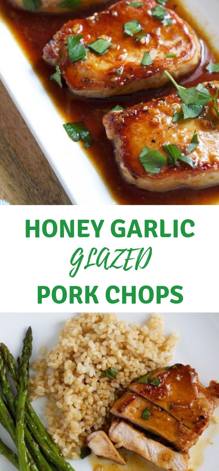 Recipe – Honey Garlic Pork Chops -  Recipe – Honey Garlic Pork Chops  -