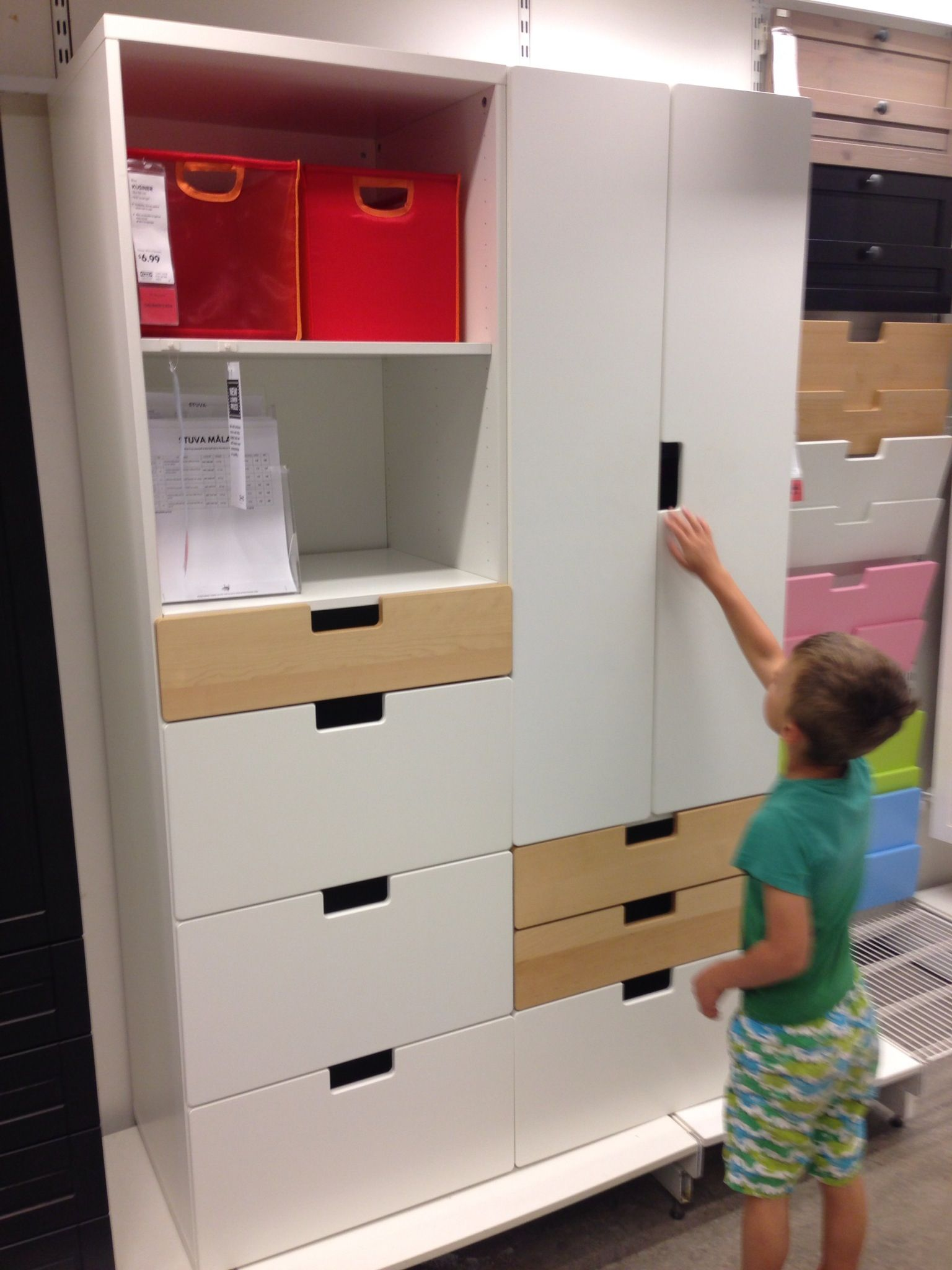 Ikea Stuva - this combination $219 (for the boys\' room) | Kids ...