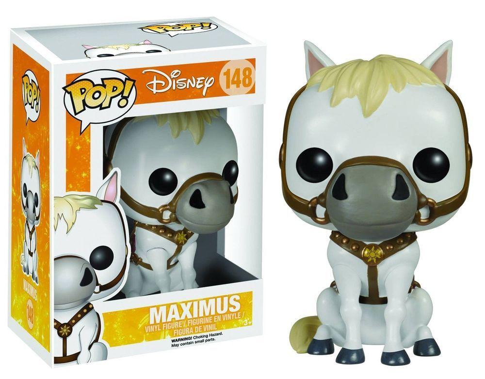 Funko POP! Disney: Tangled Maximus Vinyl Figure 148 New In Box NIB in Collectibles, Pinbacks, Bobbles, Lunchboxes, Bobbleheads, Nodders | eBay