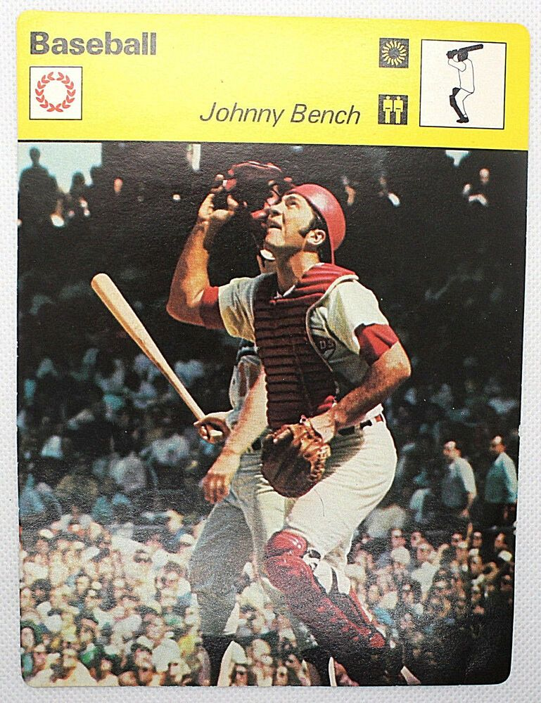 johnny bench rookie card 1968