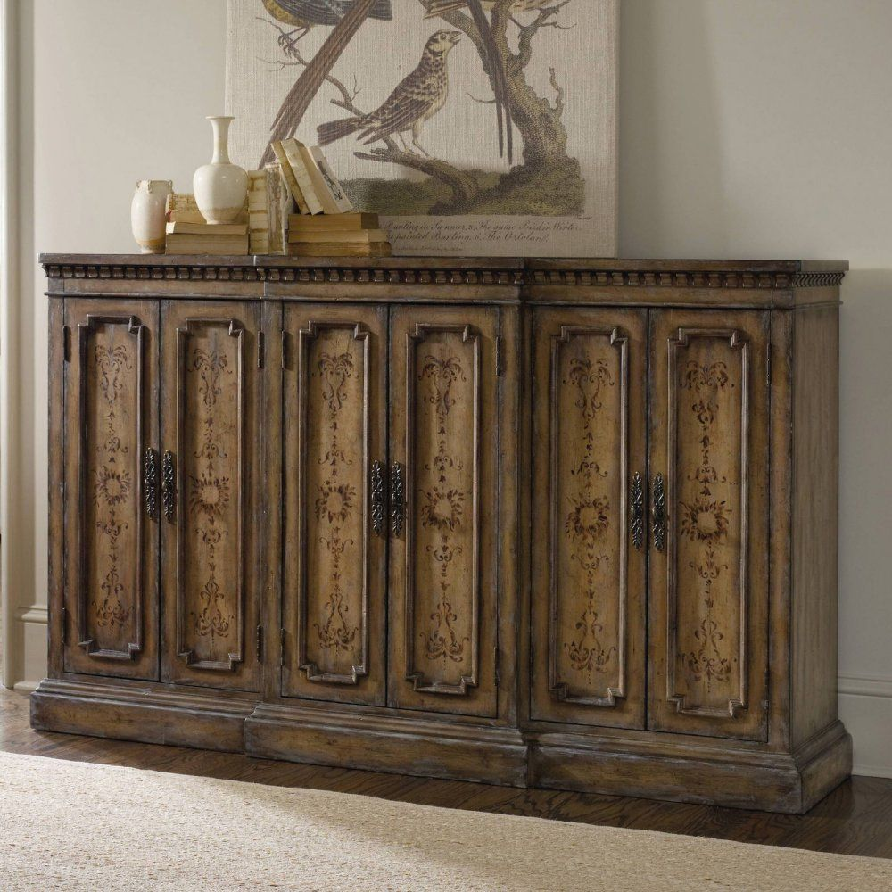 Merveilleux Hooker Furniture Handpainted Tall Credenza   Buffets U0026 Sideboards At  Hayneedle