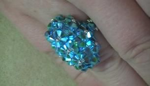 oval ring  off the beaded path