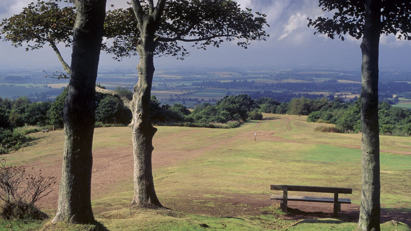 The National Trust's Clent Hills in Worcestershire offers