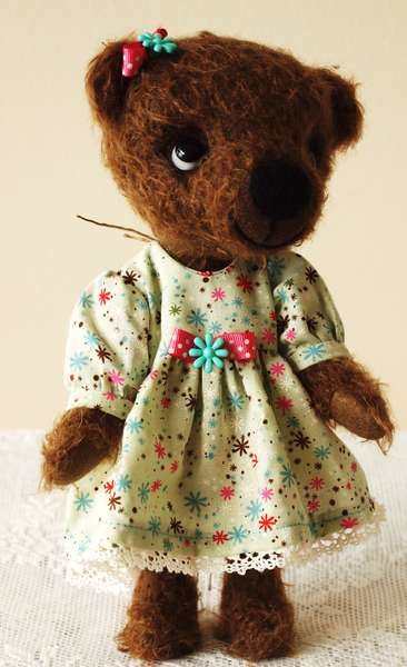 Missy Ann By Dog Patch Critters - Bear Pile
