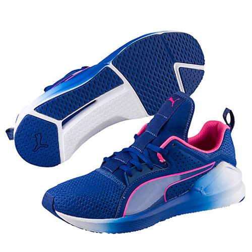 Puma True Blue-Knockout Pink Fierce Low Lace Women's Training Shoes - Best  Chic Fashion