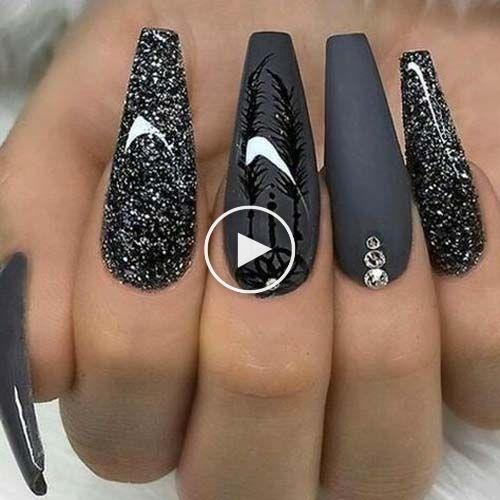 Beste Nail Art18-Trend-Nageldesigns #Acryl #Nagel #Babyboom #NagelNaturel #Mooie…