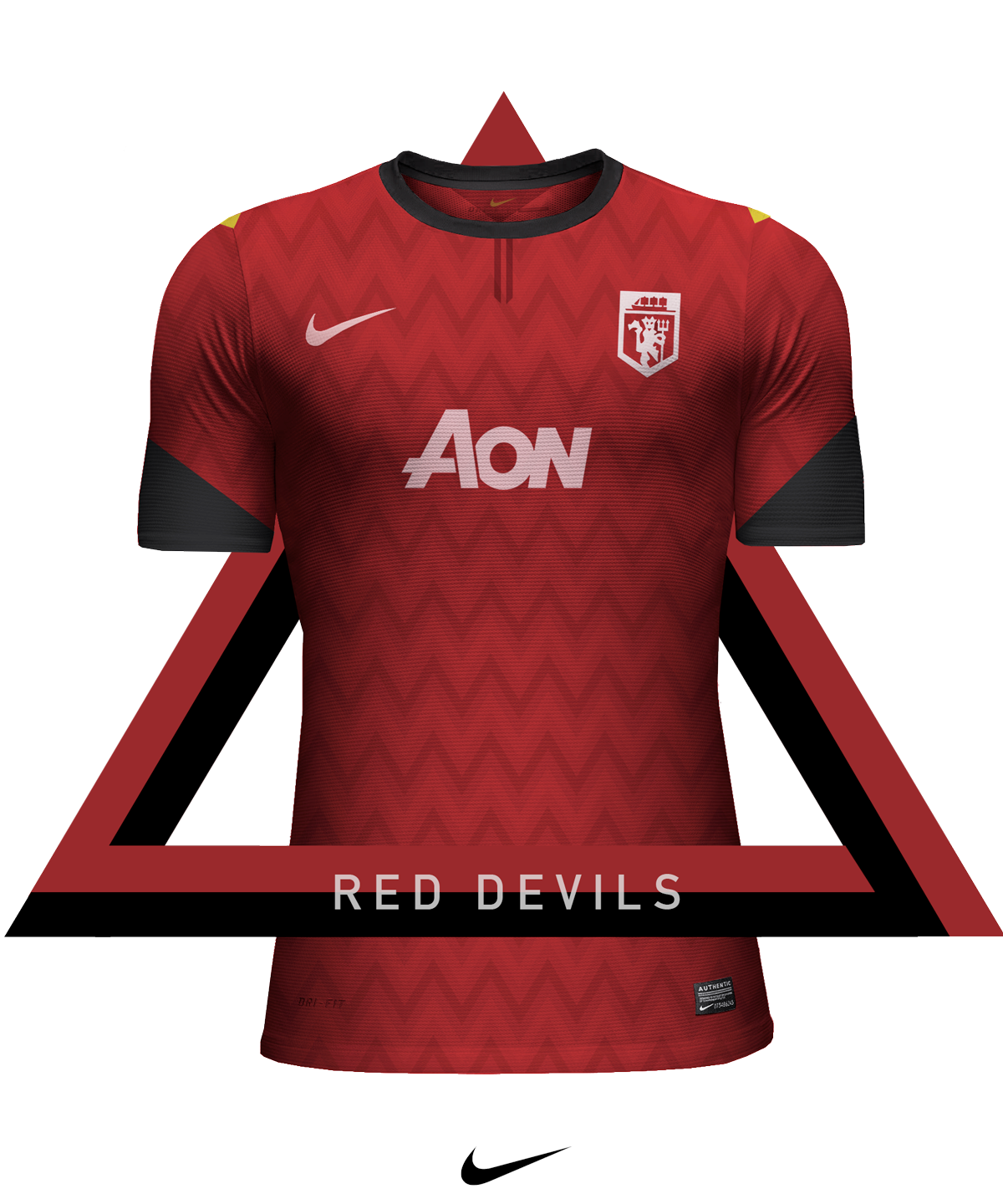 Download Concept of Nike club football jerseys I designed during a ...