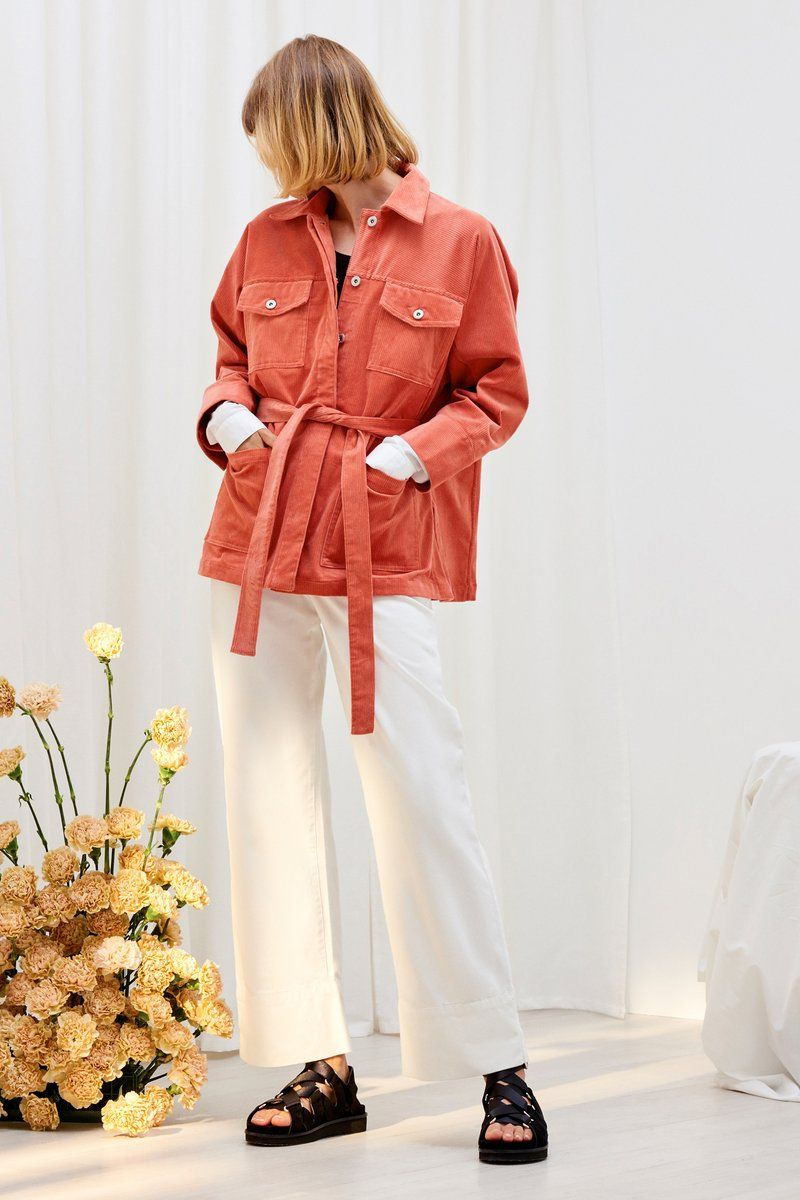 Monument Jacket, Peach Cord Jackets, Clothes, Ready to wear