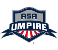 ASA Umpire Logo | Softball Umpires | Logos, Softball, Team usa