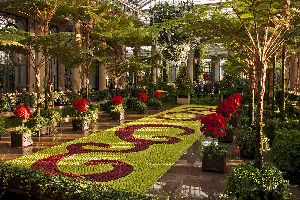 Christmas 2013 Festivities Floating Apple Tapestry 5 Of 6 At Longwood Gardens Of Kennett