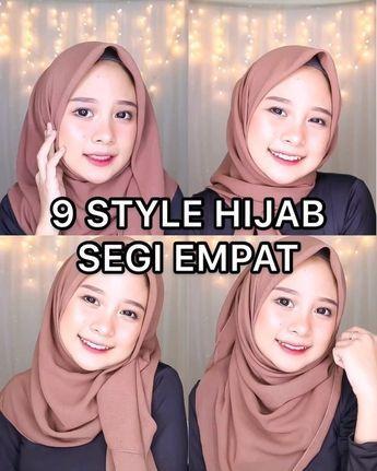 "Photo of ! TUTORIAL HIJAB MASA KINI on Instagram: ""Kali ini tutorial hijab segiempat yaa. Cus yg pada minta bisa ditiru nih temen temen onlen nipi 🤗♥️ . . LIKE ❤ TAG TEMANMU✔ Follow…"""