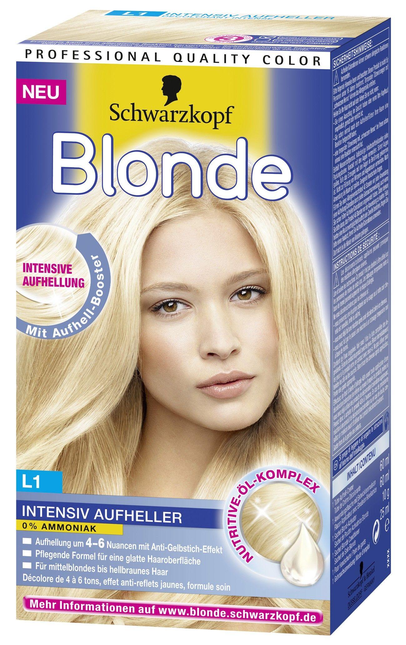 Schwarzkopf Blonde Sac Boyasi Sac Boyasi Sac