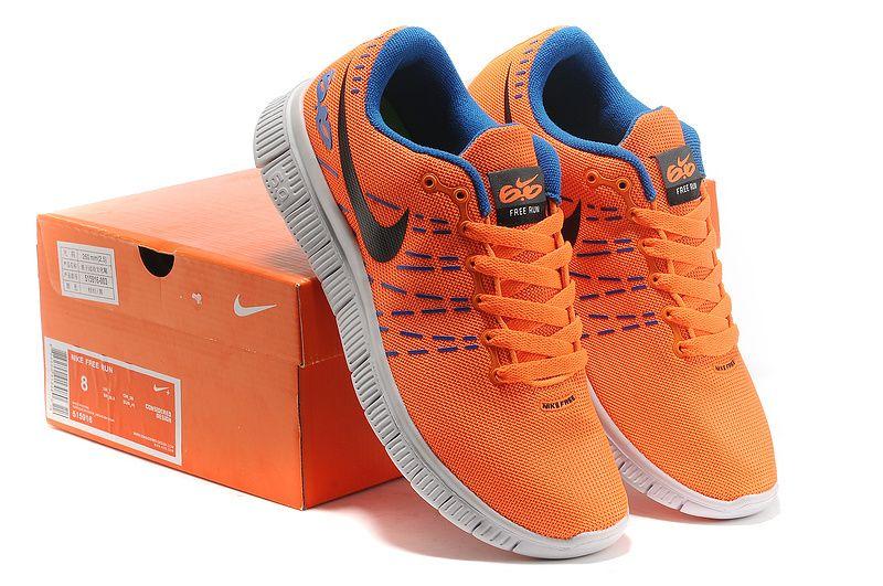 Nike Free 6.0 V2 Rainbow Lovers Vivid Orange Distance Blue Coal Black
