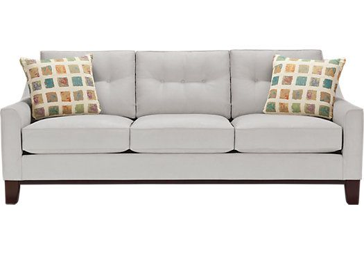 Picture Of Cindy Crawford Home Montclair Platinum Sleeper From Sofas Furniture