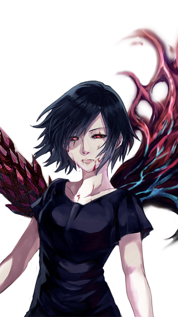 Tokyo Ghoul Wallpapers For Mobile Touka Kirishima Tokyo Ghoul Tokyo Ghoul Anime