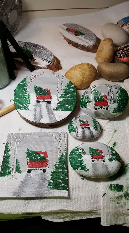Dipingere Sassi Per Natale pin di lorenza su natale   decorazioni natalizie