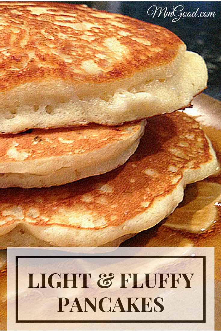 A Light Fluffy Pancake That Tastes Amazing With A Secret Ingredient Recipe Best Pancake Recipe Homemade Pancakes Light And Fluffy Pancakes