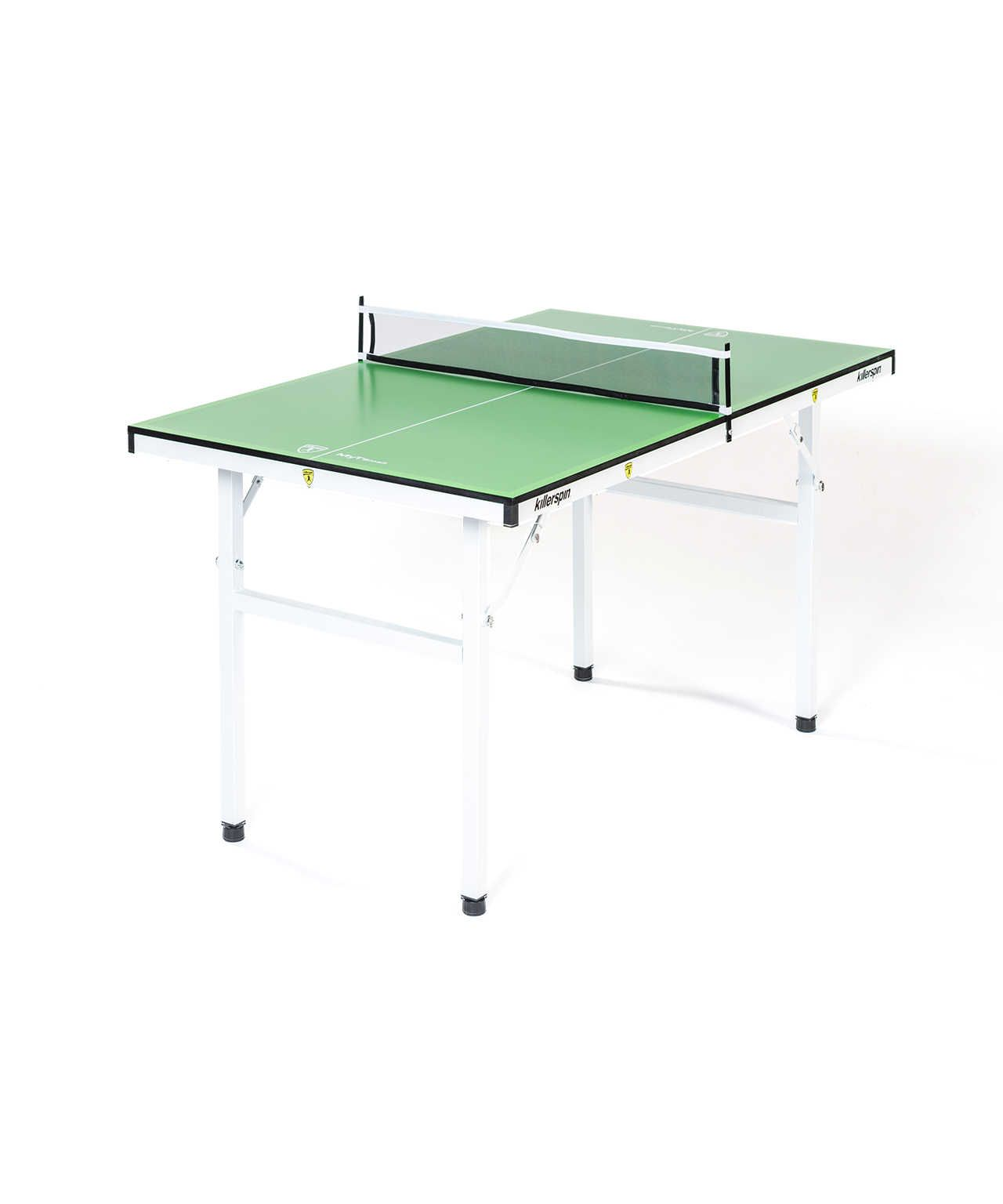 Killerspin Myt Small Lime Green White Table Tennis Table Mini Table Ping Pong Table Table Tennis