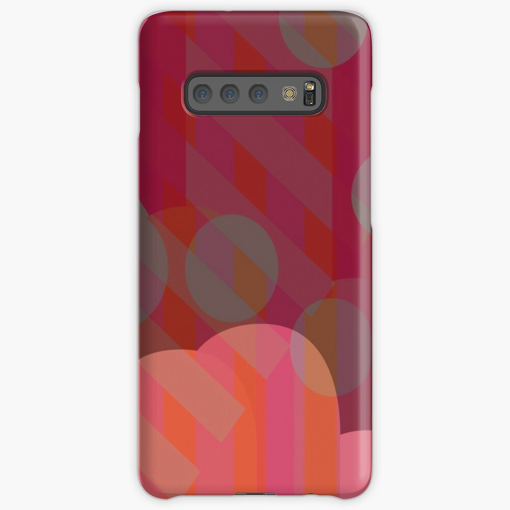 'Vivid Dreams in Merlot' Case/Skin for Samsung Galaxy by covereaux