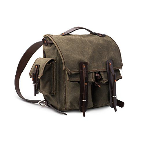 f27aafec43  Saddleback  Leather  5  Pocket  Canvas  Backpack - Best  Canvas  Backpack  for  School