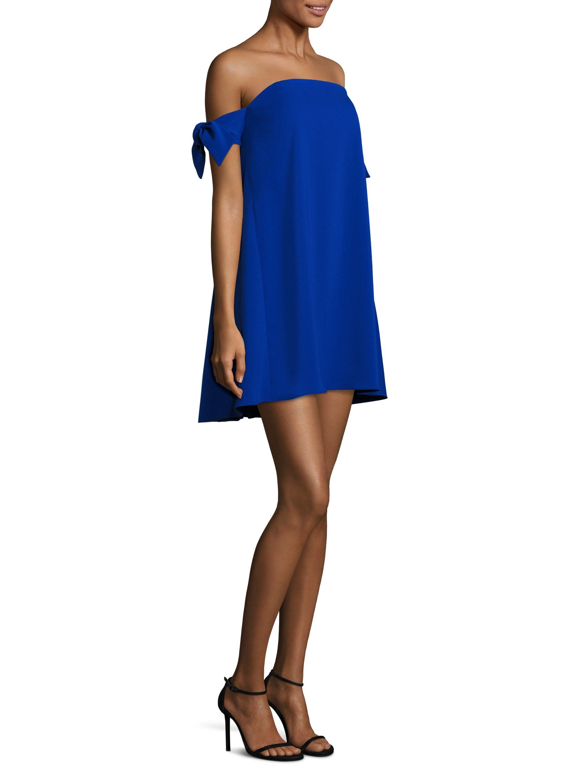 ad8f1b54d3b81 Jade Italian Cady Off-The-Shoulder Dress by Milly | Products | Jade ...