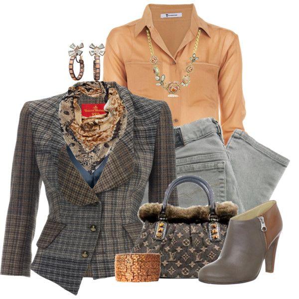 """Tweed blazer"" by tacciani on Polyvore"