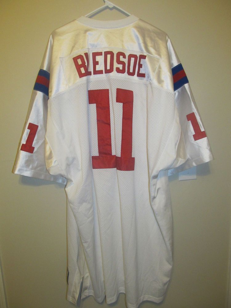 new concept a0673 70231 Drew Bledsoe - New England Patriots jersey - Mitchell & Ness ...