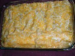 Jalapeno Cream Cheese Chicken Enchiladas #todieforchickenenchiladas