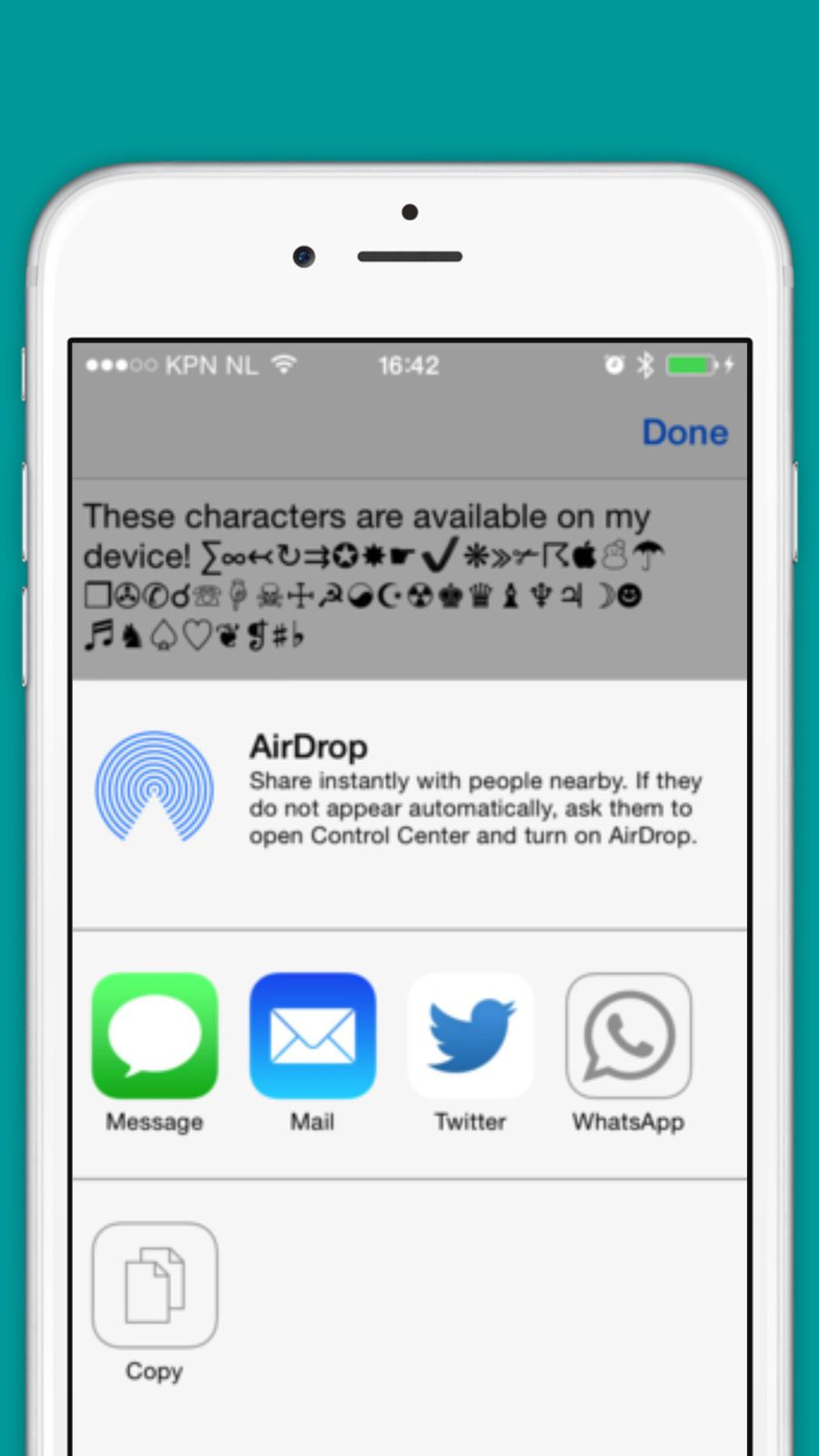Characters And Symbols Lite Utilitiesproductivityappsios Game