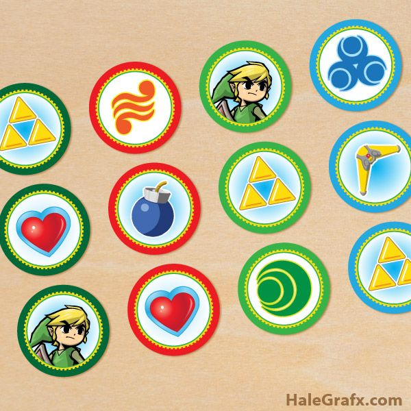 Click Here To Download FREE Printable Legend Of Zelda