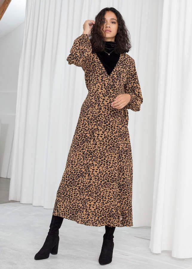 08ba0aecf And other stories Leopard Print Wrap Dress in 2019   Dresses ...