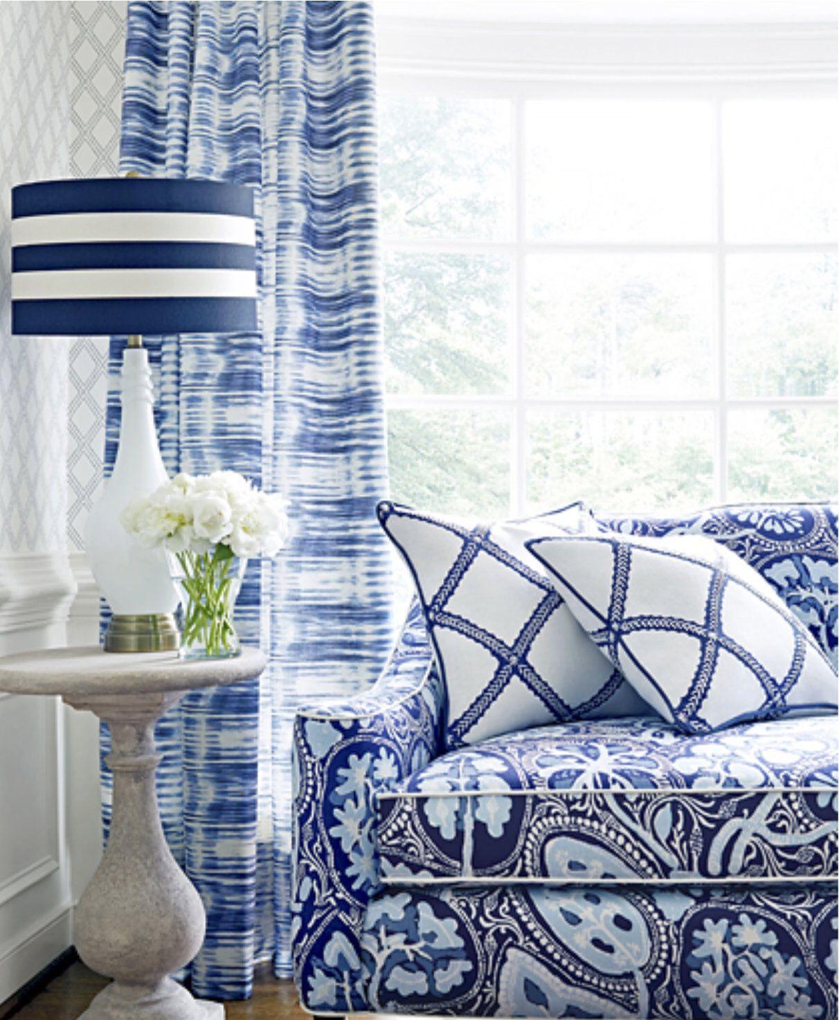 Blue Ikat Curtains Thibaut Curtains Charcoal Curtain Panels Blue