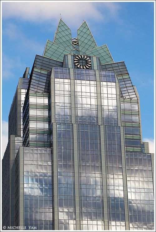 Frost Bank Tower In Downtown Austin Texas So Cool We Love This