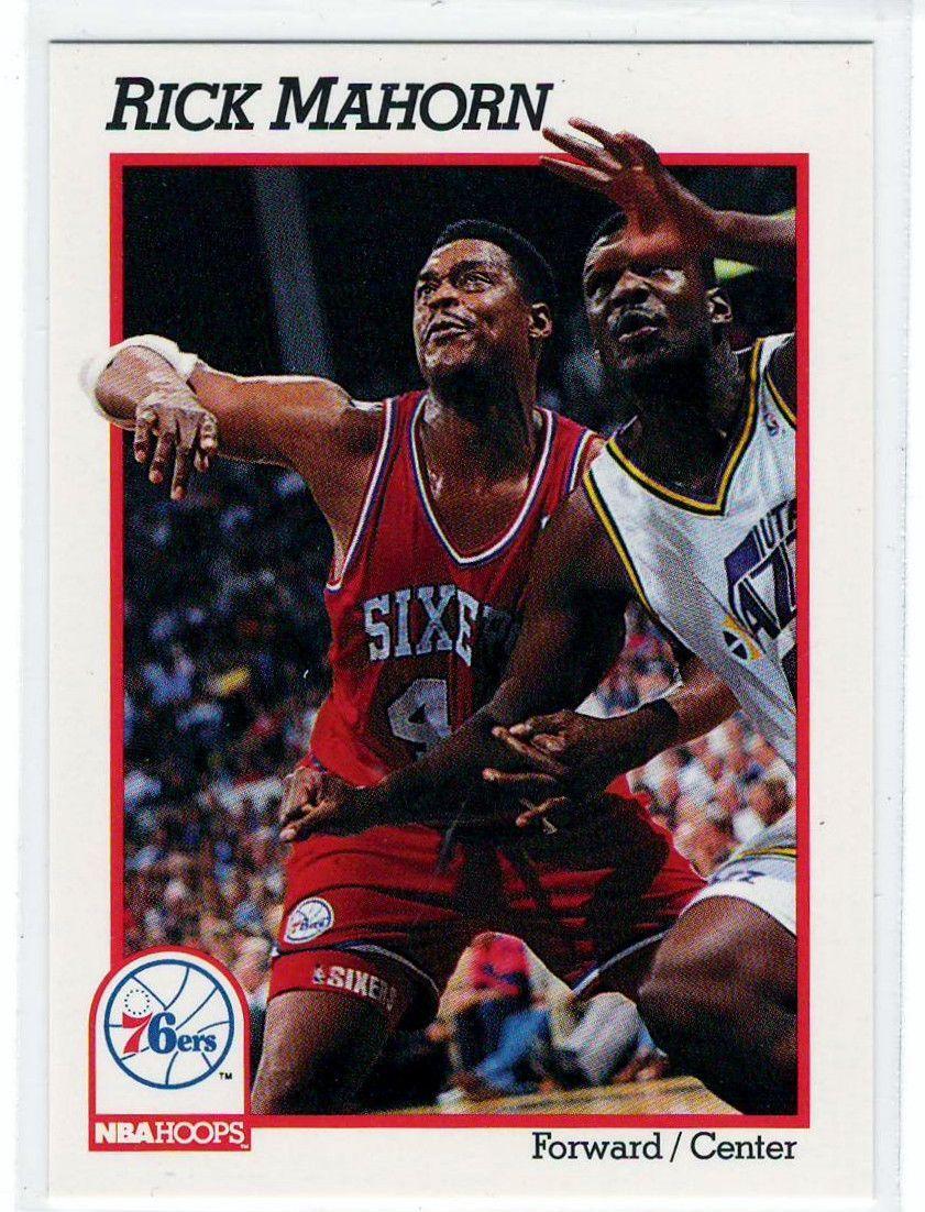 Sports Cards Basketball 1991 NBA Hoops Rick Mahorn