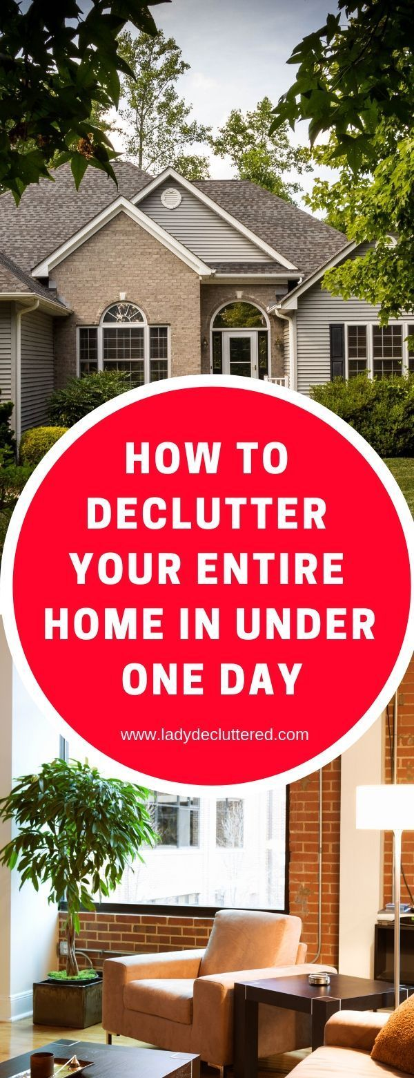 How to declutter your home ridiculously fast organizing - How to declutter your bedroom fast ...