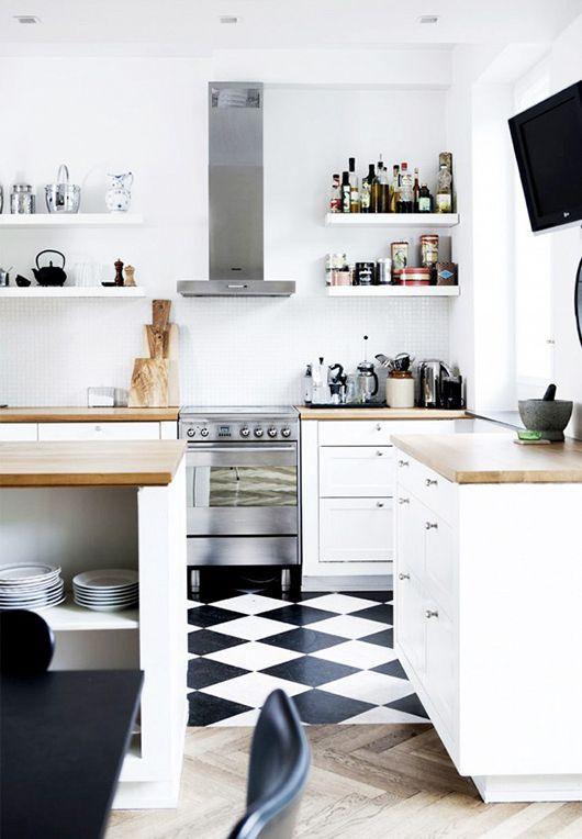 danish modern Cuisines, Maisonnette et Cuisiner