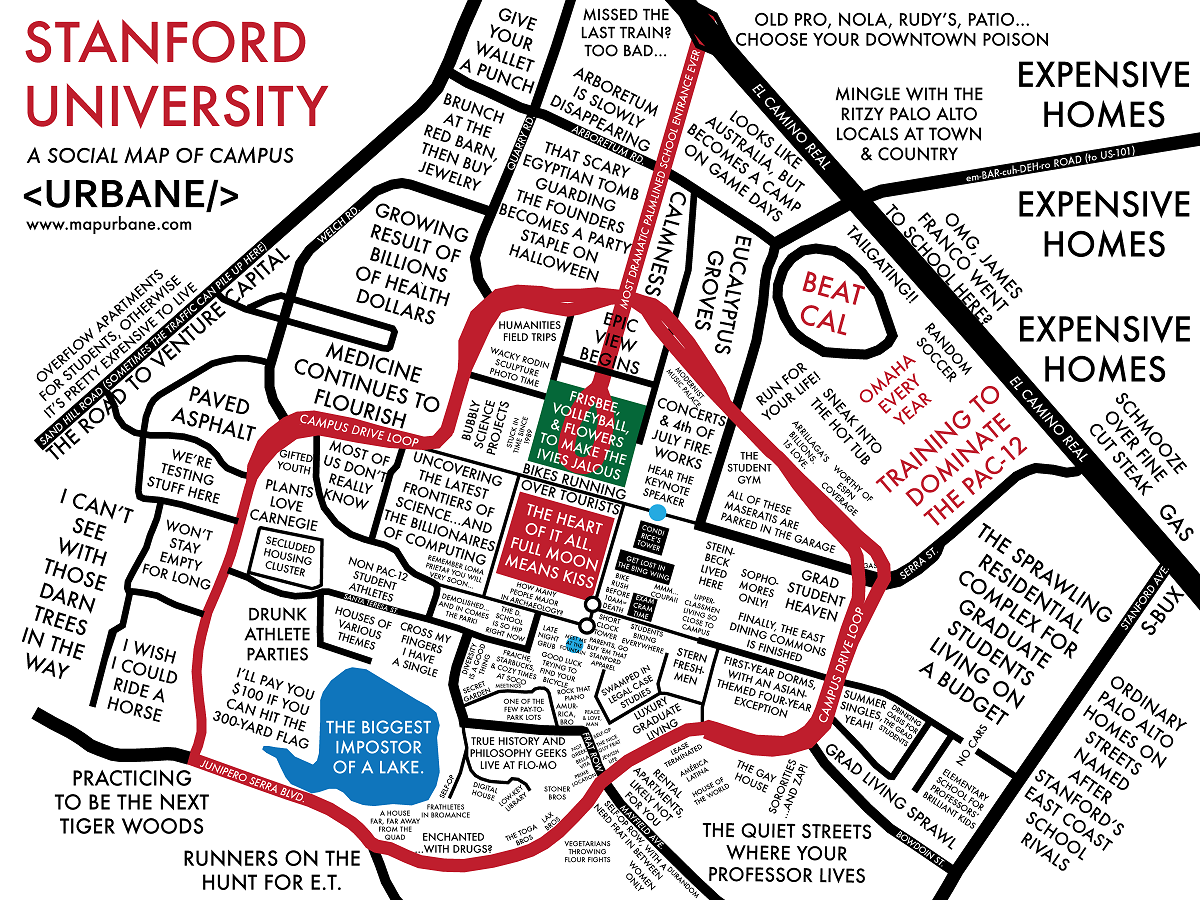 stanford university urbane maps pinterest typography