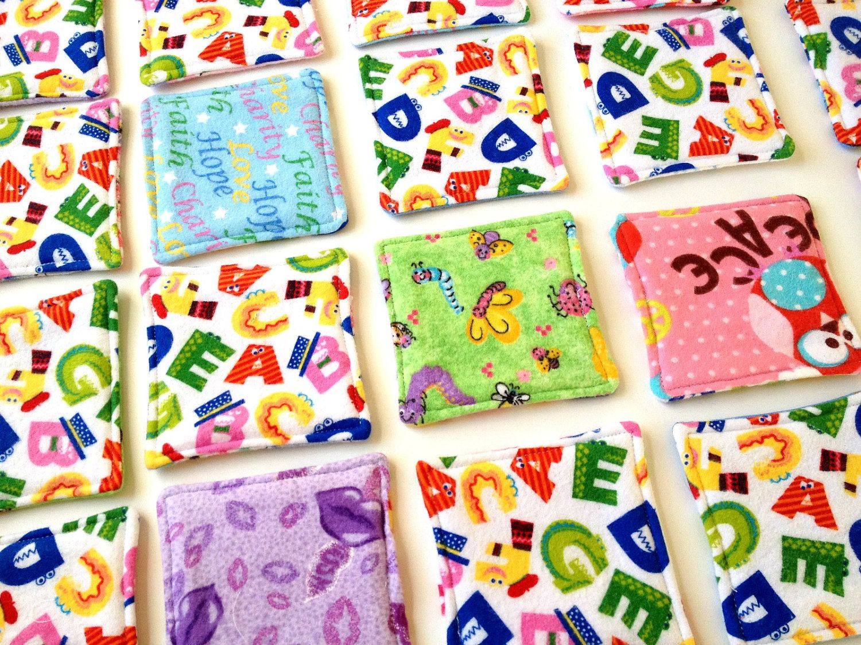Fabric Children's Matching Memory Game. 20.00, via Etsy